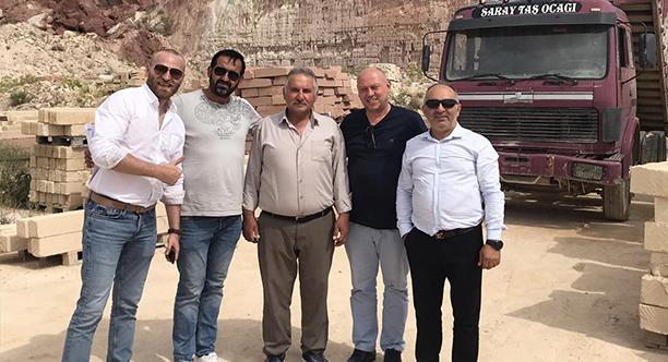 We bring the Cappadocia stone to the Marmara Region!